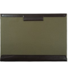 POSTALCO Olive Green Legal Envelope Model Picutre