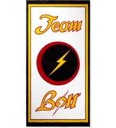 Lightning Bolt Multicolor Print Style Masters Towel Picutre