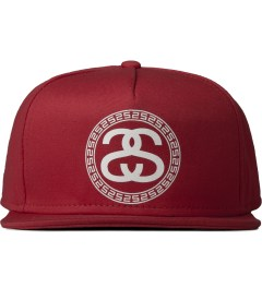 Stussy Red Greek Cap Picutre