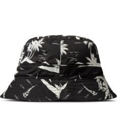 10.Deep Black Thompson Fisherman Bucket Hat Model Picutre