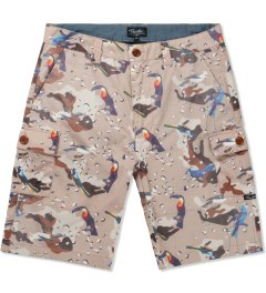 Primitive Multicolor Print High Desert Cargo Shorts Picutre