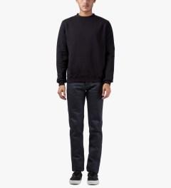 Naked & Famous Indigo/Black Elephant #4 Skinny Guy Jeans Model Picutre