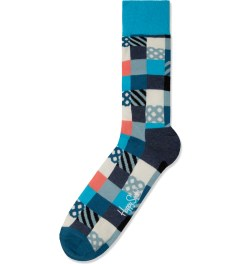 Happy Socks Light Blue Mini Square Socks Picutre