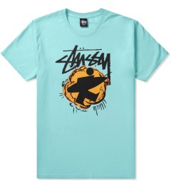 Stussy Light Blue Pop Surfman T-Shirt Picutre