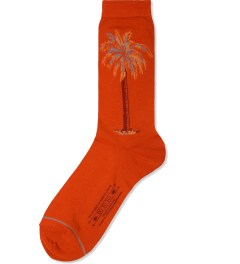 EOTOTO Brown Palm Tree Hi-Sox Socks Picutre