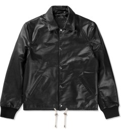 MKI BLACK Black High Grain Coat Jacket Picutre