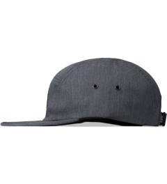 Raised by Wolves Heather Grey Algonquin 5-Panel Cap Model Picutre