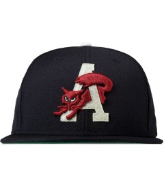 Acapulco Gold Navy Fox 'A' New Era Fitted Cap Picutre