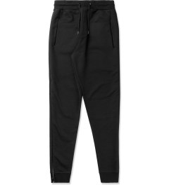 McQ by Alexander McQueen Black Zipped Sweatpants Picutre
