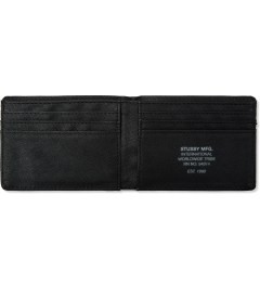 Stussy Olive Camo Bi-Fold Wallet Model Picutre
