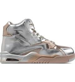British Knights Silver Chrome Control Hi Sorayama Shoes Picutre