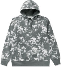 HUF Black Floral Pullover Hoodie Picutre