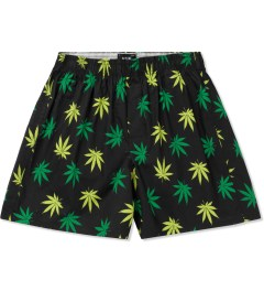 HUF Black/Green Plantlife Boxers Picutre
