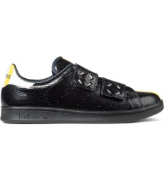 adidas Originals Adidas x Raf Simons Dark Navy Snakeskin Leather Stan Smith Shoes Picutre