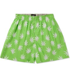 HUF Lime/White Plantlife Boxers Picutre