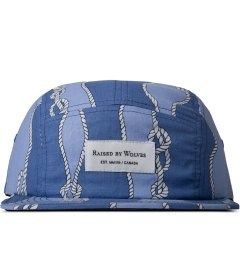 Raised by Wolves Blue Sailor's Knot Algonquin 5-Panel Cap Picutre