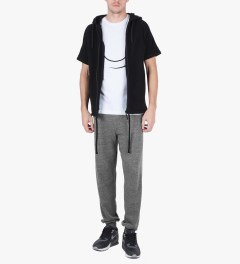 U.S. Alteration Grey AS14 Long Plain Sweatpant Model Picutre