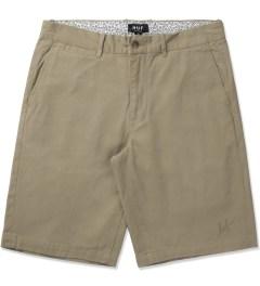 HUF Khaki Twill Walk Shorts Picutre