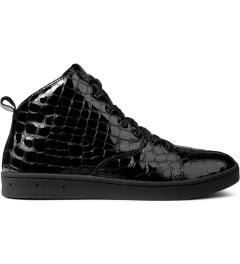 Gourmet Black Croc/Black Quattro Skate 2 LXL Shoes Picutre