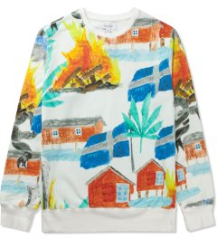 Soulland Off White with Colors PF14 SVEA Sweat Sweater Picutre