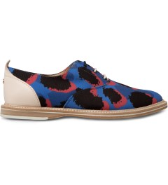 Thorocraft Blue Leopard Hampton Shoes Picutre