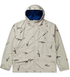 Mark McNairy for Heather Grey Wall Beige AK47 Hooded Jacket Picutre