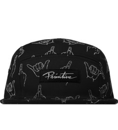Primitive Black HLFU 5-Panel Cap Picutre