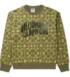 Billionaire Boys Club Dusky Green L/S Counter Measures Sweater Picutre