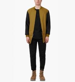 3.1 Phillip Lim Black Side Zippered Pockets Classic Lounge Pants Model Picutre