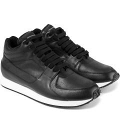 KRISVANASSCHE Black Hybrid Sneakers Model Picutre