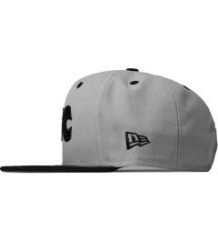 FTC Grey New Era Snapback Cap Model Picutre