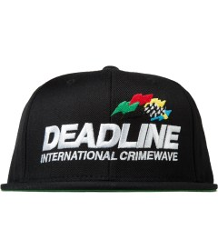 Deadline Black Crimewave Snapback Picutre