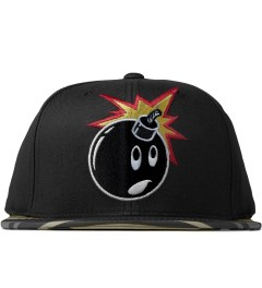The Hundreds Black Adam Snapback Picutre