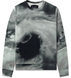Tourne de Transmission White/Black/Grey Storm Sweater Picutre