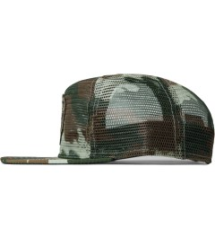 Benny Gold Duck DFA Fog Camo Mesh Hat Model Picutre