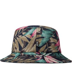 HUF Navy Waikiki Bucket Hat Model Picutre