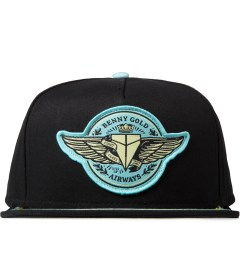 Benny Gold Black Airways Snapback Picutre