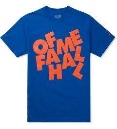 Hall of Fame Royal Blue Stacked T-Shirt Picutre