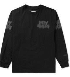 BEENTRILL Black New Rules L/S T-Shirt Picutre