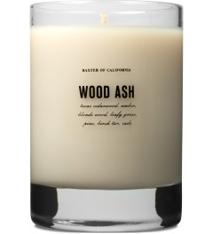 Baxter of California Wood Ash Flammable Soy Wax Scented Candle Picutre