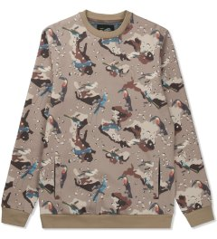 Primitive Multicolor Print High Desert Sweater Picutre