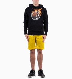 The Hundreds Navy/Yellow Allsport Basketball Short Model Picutre