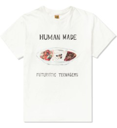 Human Made White Curry Dish T-Shirt Picutre