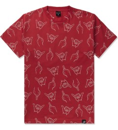 Primitive Red HLFU T-Shirt Picutre