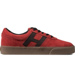 HUF Vermilion/Black Choice Low-Top Shoes Picutre