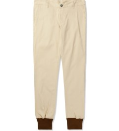 Jiberish Tan Crest Chino Jogger Pants Picutre