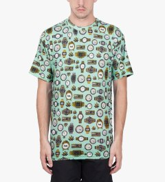 Odd Future Mint High Tick Toke T-Shirt Model Picutre