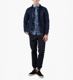 Ucon Dark Navy Vito Chino Pant Model Picutre