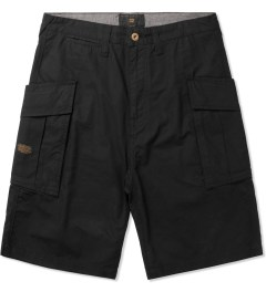 10.Deep Black High Post Shorts Picutre
