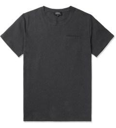 A.P.C. Anthracite Passepoil T-Shirt Picutre